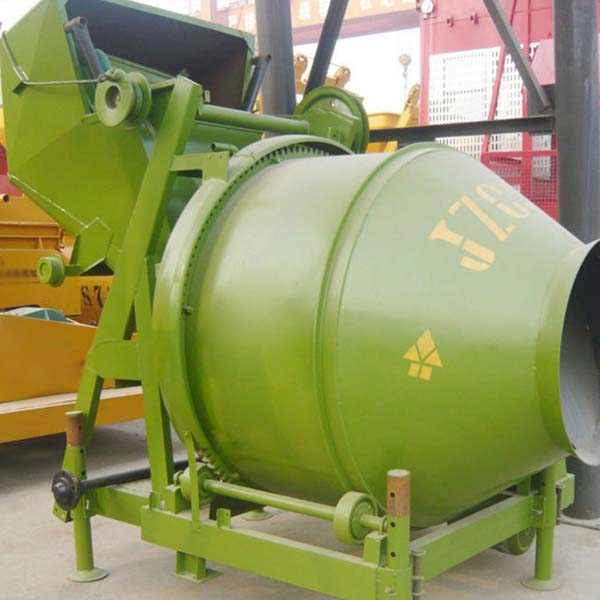 JZC 250T  Industrial Lifting and Self-Dumping Concrete Mixer