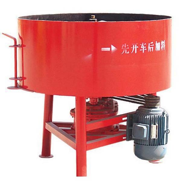 JQ350 Mini Automatic Control Pan Type Concrete Mixer Machine