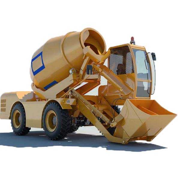 FM3.5-2 Mobile Concrete Mixing Self Loading Truck