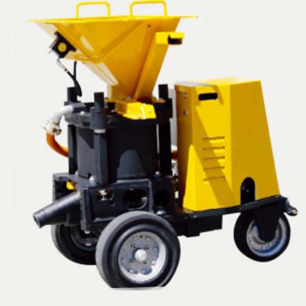 Moist And Wet Type Spraying Machine