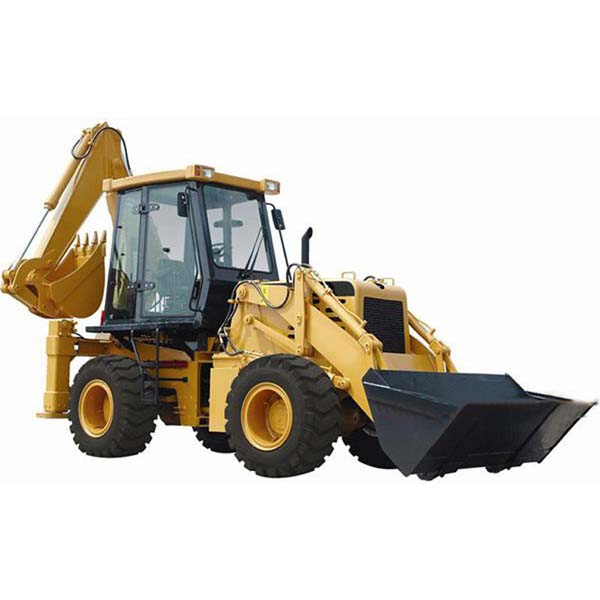 Backhoe Loader With 0.4M3 Rated Bucket Capacity