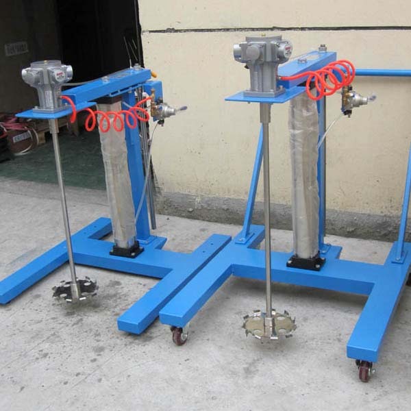 Air Pneumatic Lifting Mixer Disperser