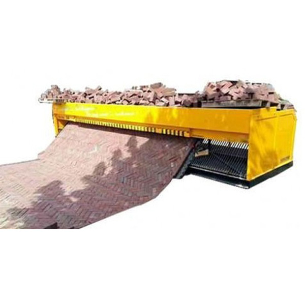Fully Automatic Tiger Stone Brick Paving Machine