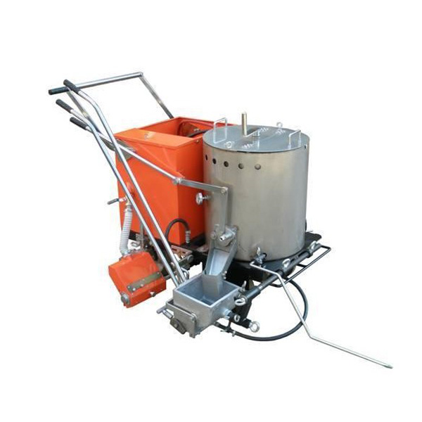 Hand Push Thermoplastic Hot Paint Line Machine
