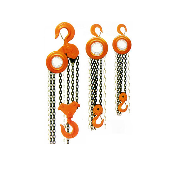 HSZ Type Manual Chain Block Hoisting Equipment
