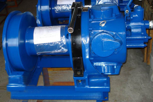 Pneumatic Wire Romote Control Air Winch