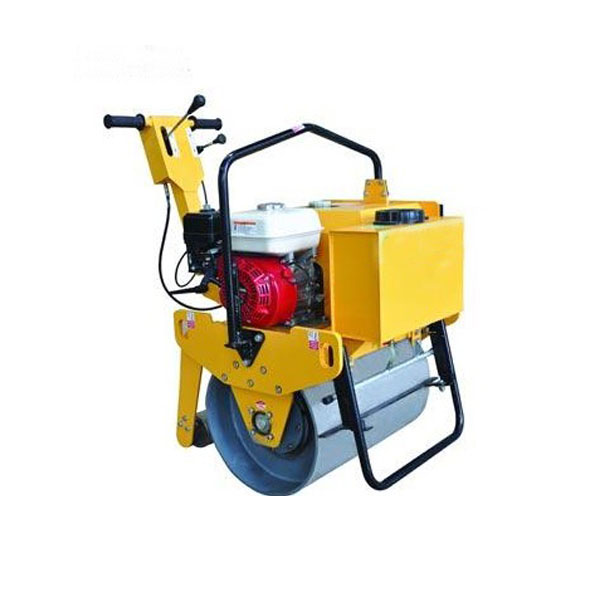 Manual Vibratory Single Drum Roller Compactor Machine