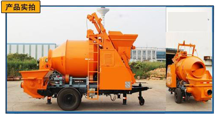 Analysis Of Current Status And Future Development Of Self-Mixing Concrete Mixing Pump Industry