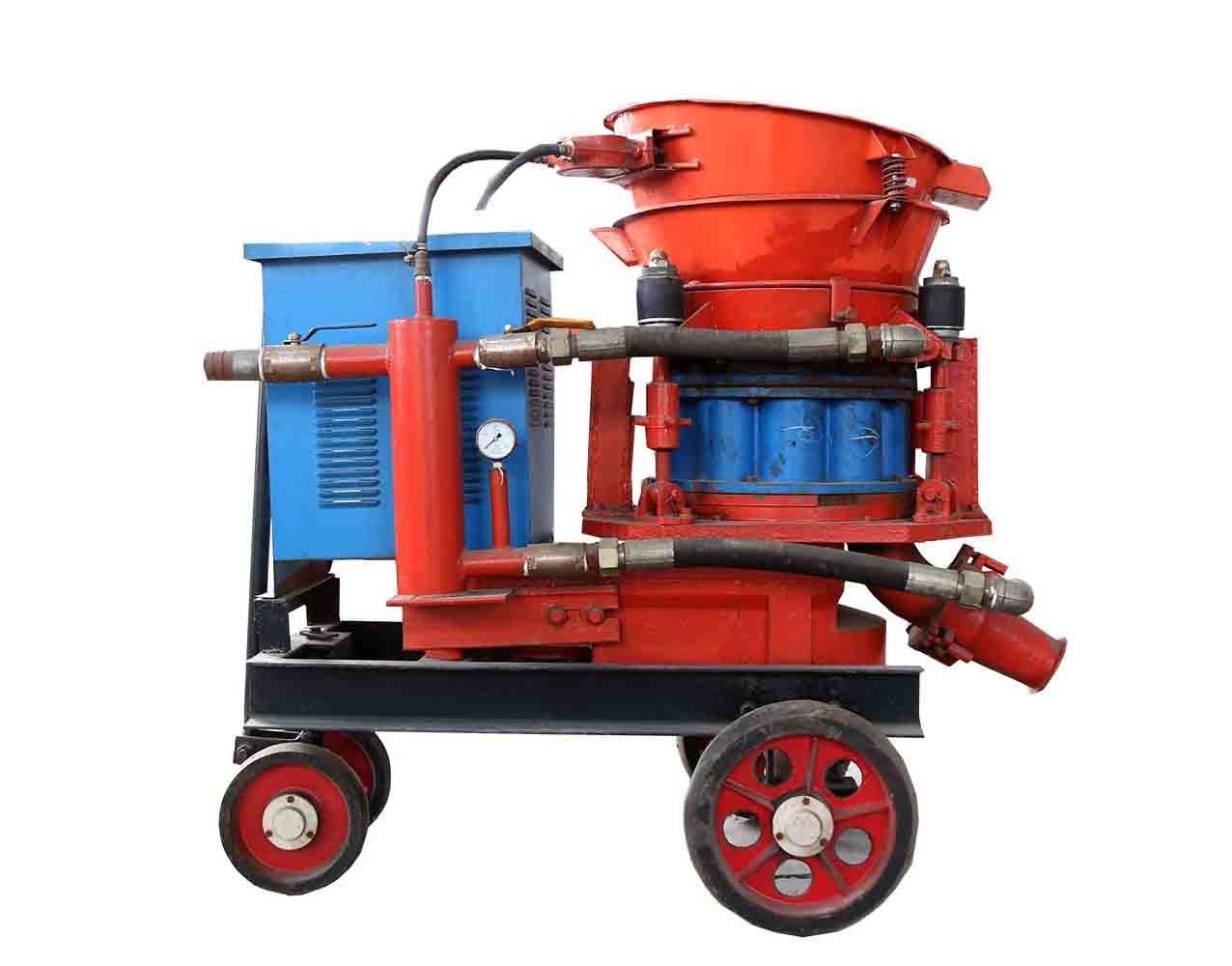 What Is A Dry-Mix Shotcrete Machine Application