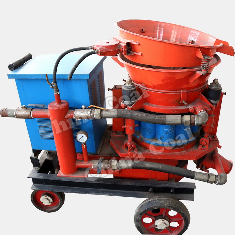 What Are The Major Parts Of Shotcrete Machine