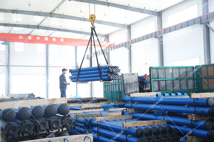 China Coal Group Sent A Batch Of Mining Single Hydraulic Prop To Shanxi